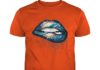 Miami Dolphins love glitter lips shirt