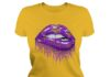Minnesota Vikings love glitter lips shirt