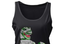 Mummy T-Rex for Halloween shirt