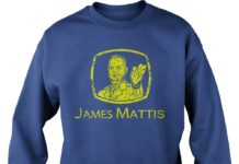 Nothing cuts like a Mattis shirt sweat shirt