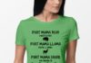 Part mama bear part mama llama part mama shark shirt