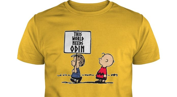 Peanuts this world needs odin shirt
