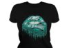 Philadelphia Eagles love glitter lips shirt