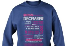 Queens are born in December shirt sweat shirt
