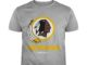 Redskins football team logo shirt