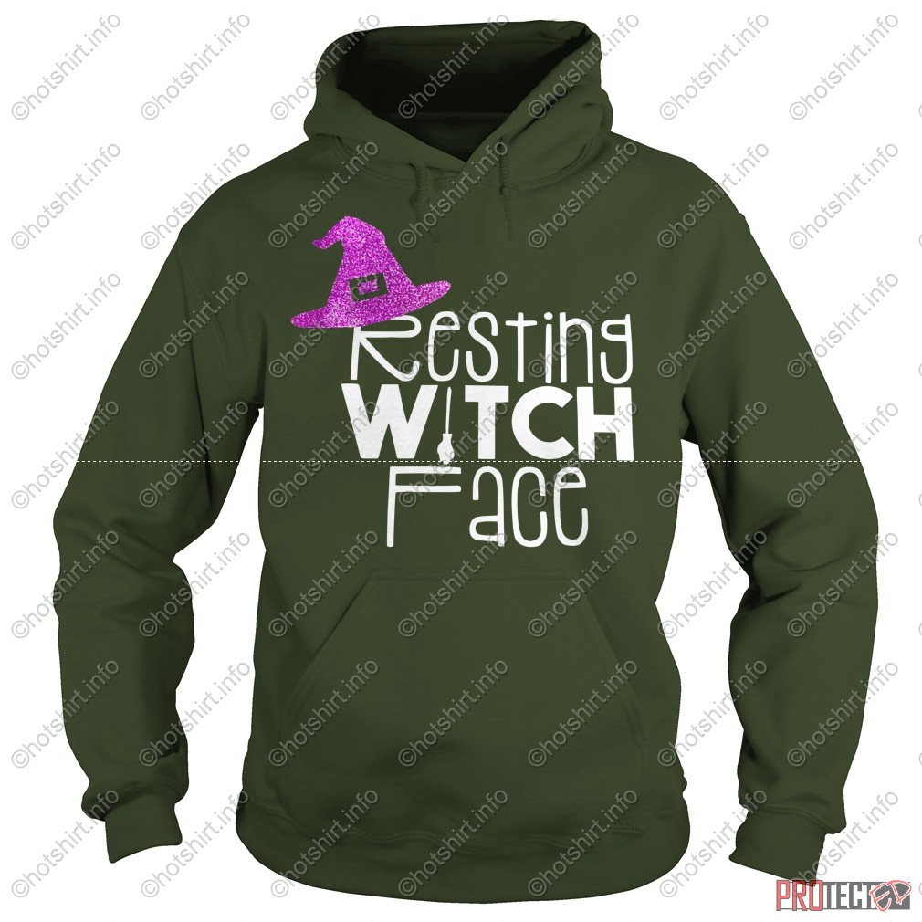 Resting witch face shirt hoodie