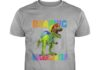 Roaring Kindergarten Dinosaur T Rex Back to School shirt
