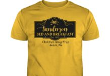 Sanderson bed and breakfast children stay free salem ma shirt
