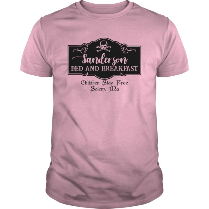 Sanderson bed and breakfast shirt