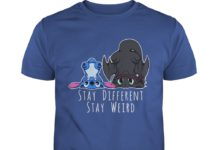 Stitch And Toothless Stay Different Stay Weird shirt