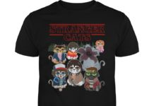 Stranger cats Stranger Things unisex shirt