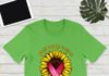 Sunflower breast cancer warrior shirt