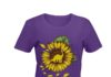 Sunflower mama saurus shirt