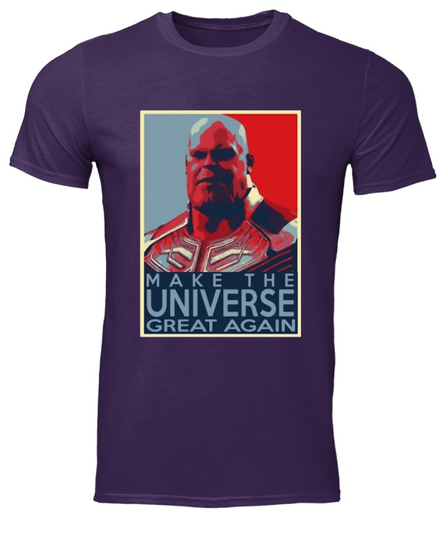 Thanos make the universe great again shirt