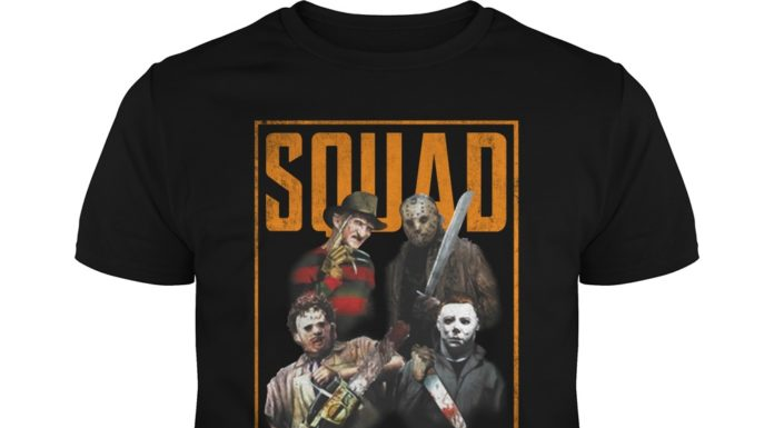 The Halloween horror movie squad unisex shirt