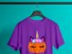 Unicorn pumpkin shirt