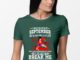 Woman I was born in september my scars tell a story shirt