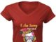 i am sorry the nice bartender is on vacation women v-neck shirt
