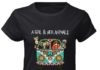 A Girl and Her Animals Living in Peace shirt