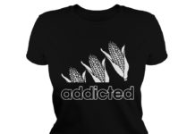 Adidas Corn Addicted lady shirt