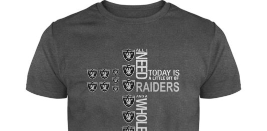 All I need today is a little bit of Raiders and a whole lot of Jesus shirt