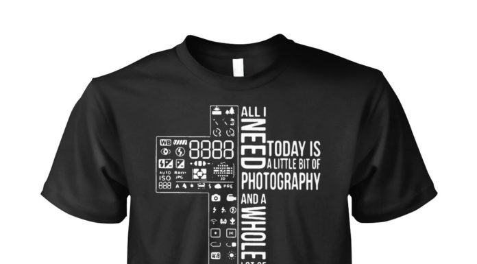 All I need today is a little bit of photography and a whole lot of Jesus shirt