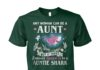 Any woman can be a aunt but it takes someone special to be a auntie shark unisex cotton tee