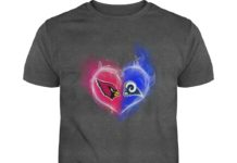 Arizona Cardinals - Los Angeles Rams It's in my heart shirt