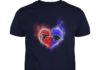 Atlanta Falcons - Carolina Panthers It's in my heart shirt