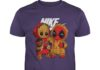 Baby groot and baby deadpool nike shirt
