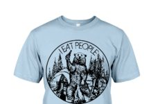 Bear camping I eat people shirt