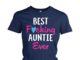 Best fucking auntie ever women's crew tee