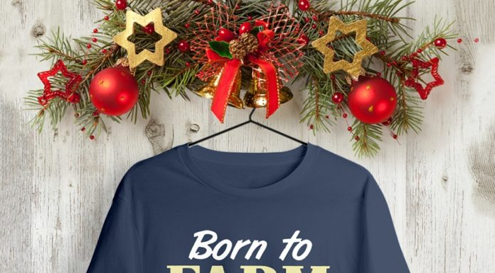 Born to farm forced to go to school shirt