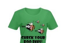 Breast Cancer check your boo bees shirt