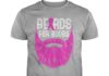 Breast cancer beards for boobs shirt
