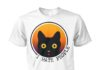 Cat I hate people unisex cotton tee
