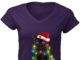 Cat With Christmas Lights shirt