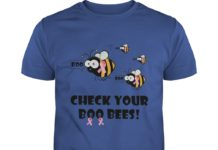 Check Your Boo Bees Breast Cancer shirt