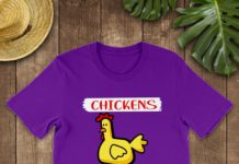 Chickens The Pet That Poops Breakfast shirt