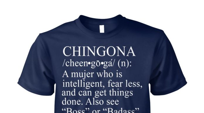 Chingoca definition unisex cotton tee
