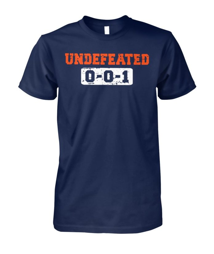 Cleveland browns undefeated 0-0-1 shirt