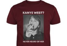 Dave Grohl Kanye West never heard of her shirt