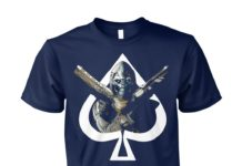 Destiny Cayde hearts unisex cotton tee