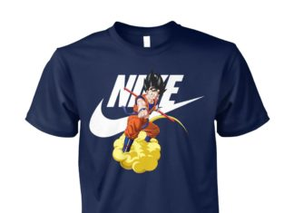 Dragon ball Songoku nike unisex cotton tee