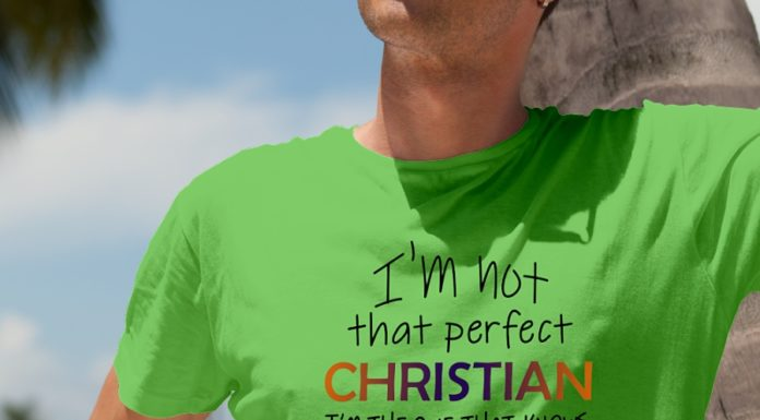 Floral I'm Not That Perfect Christian I'm The One That Knows I Need Jesus shirt