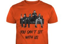 Freddy Jason Michael Myers And Leatherface you can't sit with us shirt
