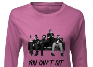 Freddy Jason Michael Myers And Leatherface you can_t sit with us shirt