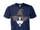 Halloween Jack Skellington as Harry Potter unisex cotton tee