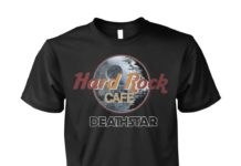 Hard Rock cafe Death Star unisex shirt