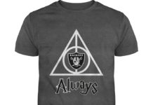 Harry Potter Deathly Hallows Oakland Raiders Always shirt
